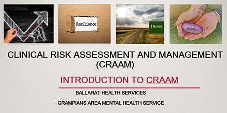 Clinical Risk Assessment & Management - Introduction to CRAAM tickets