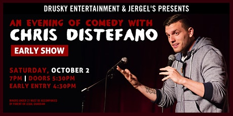 Chris Distefano (Early Show) tickets