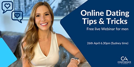 Online Dating Tips & Tricks.Boost your dating profile—free webinar for men. tickets