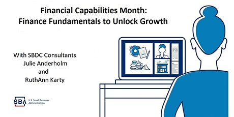 Small Business Financial Capabilities Month: Finance Fundamentals to Unlock tickets