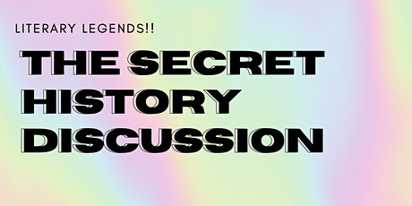 The secret history zoom but we can talk abt anything! tickets