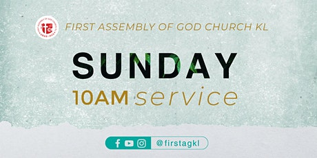 English Sunday Service - 18 APRIL tickets