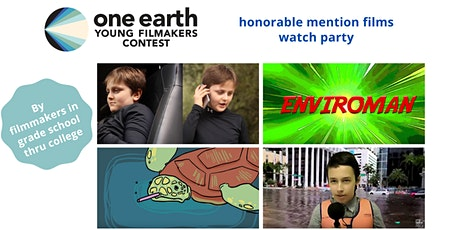 Young Filmmakers Contest Honorable Mention Winning Films (All Age Levels) tickets
