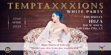 Temptaxxxions:  White Party tickets