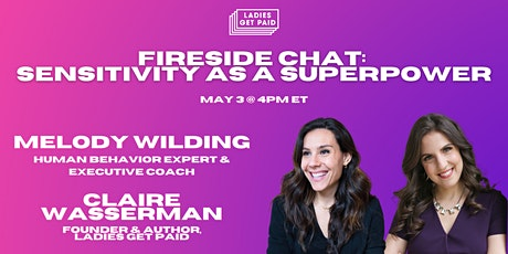 Sensitivity as a Superpower with Melody Wilding (Fireside) tickets