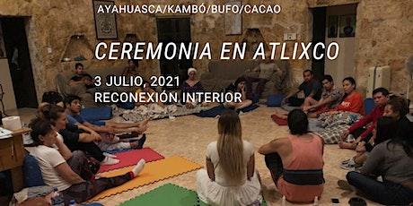 Ceremonia en Atlixco, Puebla con Ayahuasca/Kambó/Bufo/Cacao boletos