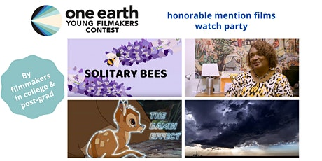 Young Filmmakers Contest Honorable Mention Winning Films (College Level+) tickets
