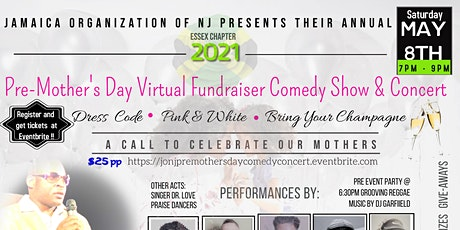 JON-J Pre-Mother's  Day Virtual  Fundraising  Comedy  Show & Concert tickets