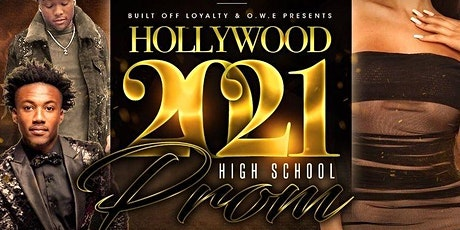Class of 2020/2021 Hollywood Prom tickets