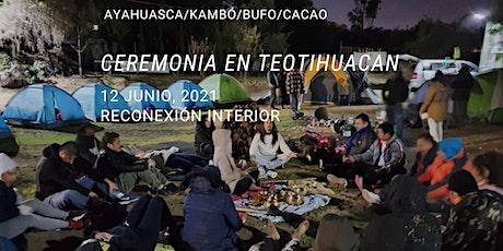Ceremonia en Teotihuacan con Ayahuasca/Kambó/Bufo/Cacao entradas