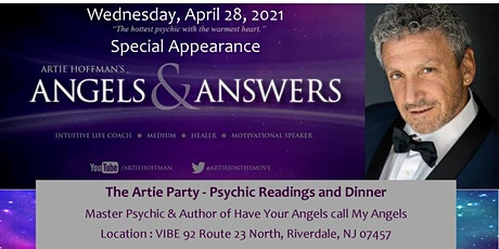 The Artie Party - Psychic Reading Show & Dinner tickets