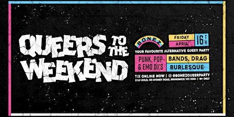 BONEZ Alternative Queer Party - April tickets