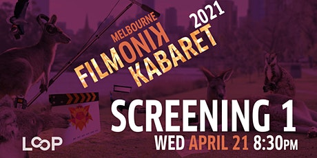 Filmonik Kabaret 2021 Short film Screening #1 tickets