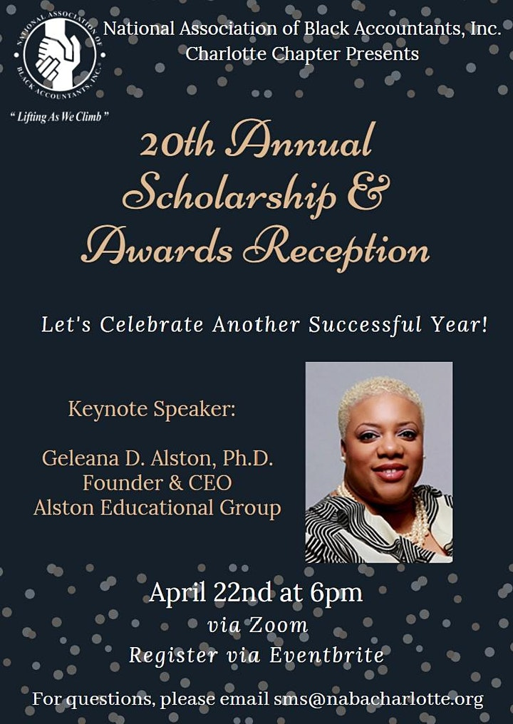 NABA Charlotte Chapter's 20th Annual Scholarship & Awards Reception image