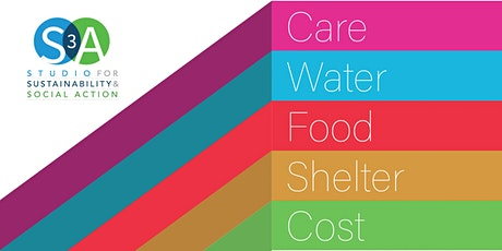 S3A Biennial Symposium and Exhibition 2021: Care-Water-Food-Shelter-Cost tickets