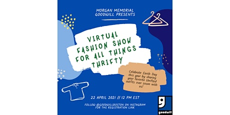 Goodwill 2021 Virtual Fashion Show tickets