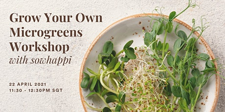 Grow Your Own Microgreens Workshop with SowHappi tickets