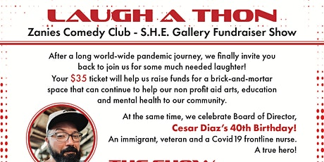 Zanies Comedy Show: S.H.E. Gallery NFP Fundraiser Birthday Celebration tickets