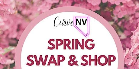 CurveNV Plus Size Clothing Swap tickets