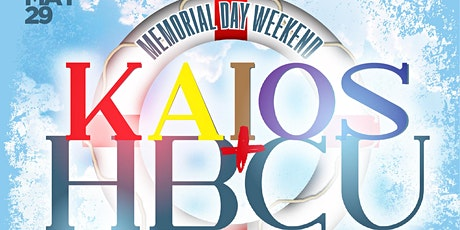 KAIOS+HBCU BOAT PARTY tickets