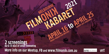 Filmonik Kabaret 2021: filmmaking unleashed tickets