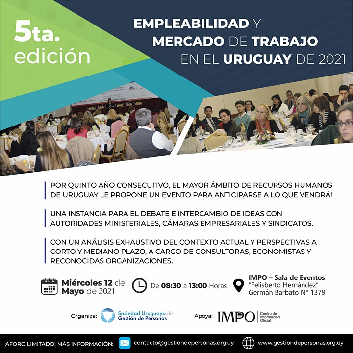 Imagen de Empleabilidad y Mercado de Trabajo - Uruguay 2021