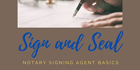 Notary Signing Agent Training Workshop tickets