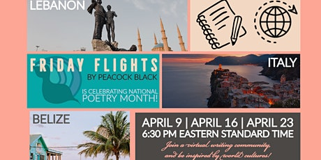 Friday Flights Remix - National Poetry Month tickets