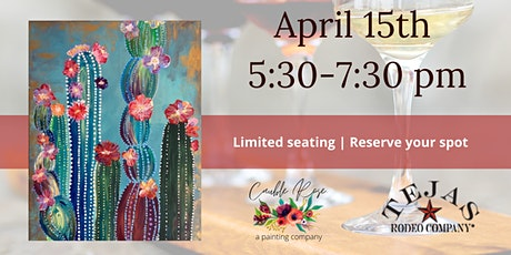 Tejas Rodeo Paint & Sip Event tickets