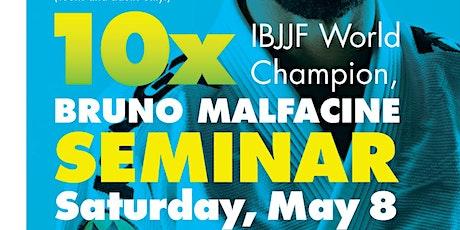 10x World Champion Bruno Malfacine BJJ Seminar tickets