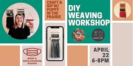 DIY Weaving Workshop with Poppy In The Prairie tickets