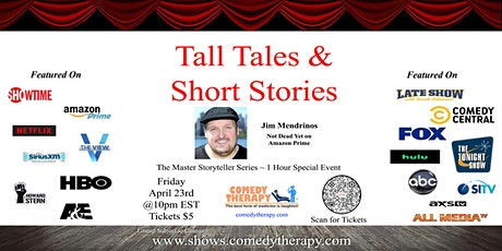 Tall Tales & Short Stories - Storyteller Graduation Show - April 29th tickets