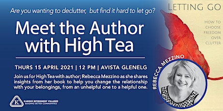 High Tea and Meet the Author tickets
