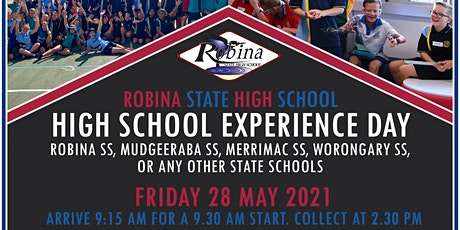 Robina SHS Year 5 High School Experience Day 1 tickets