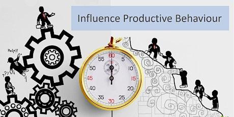 Influence Productive  Behaviour tickets