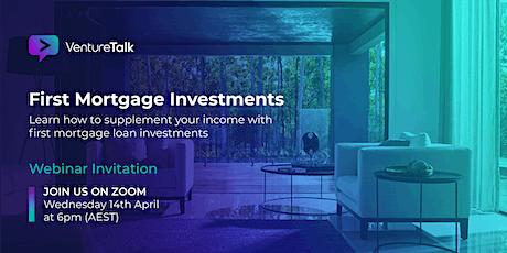 First Mortgage Fund Investment webinar bilhetes
