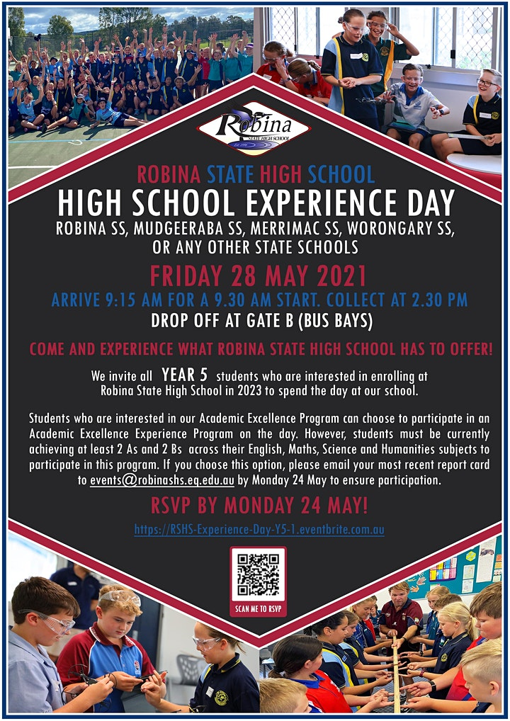 Robina SHS Year 5 High School Experience Day 1 image