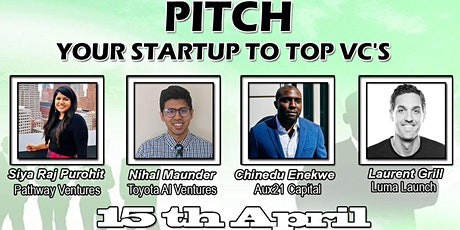 Pitch Startup To VC's Panel & Get FeedBack. tickets