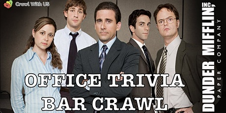 Office Trivia Bar Crawl - Spokane tickets