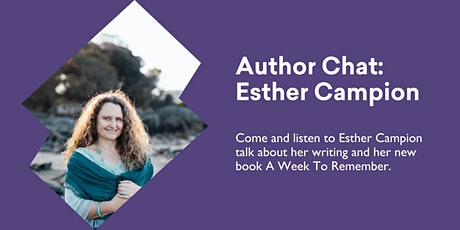 Author Chat with Esther Campion tickets