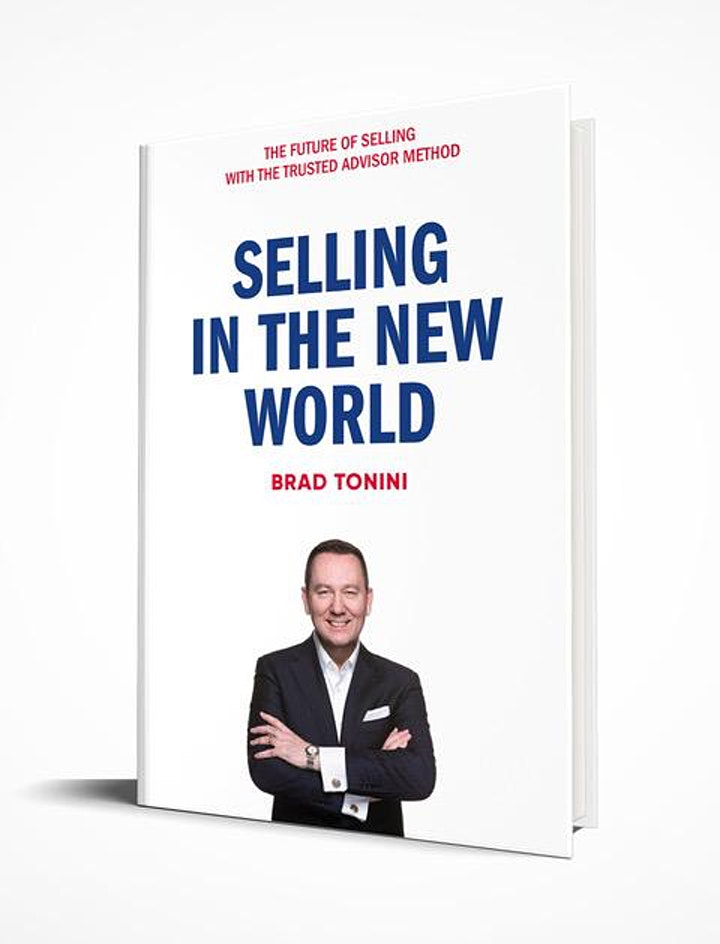 Selling in the New World with Brad Tonini image
