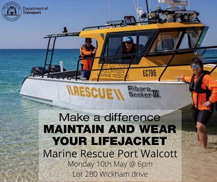 Make a Difference - Maintain and Wear your Lifejacket WICKHAM image