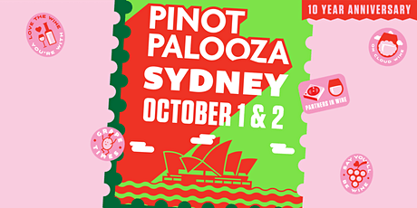 Pinot Palooza: Sydney 2021 tickets