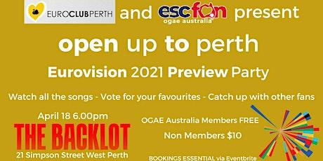 EuroClub Perth x OGAE Australia 2021 Eurovision Preview Party tickets