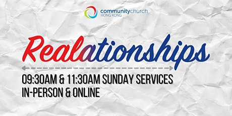 Community Church Hong Kong Sunday Services - 9:30am & 11:30am tickets