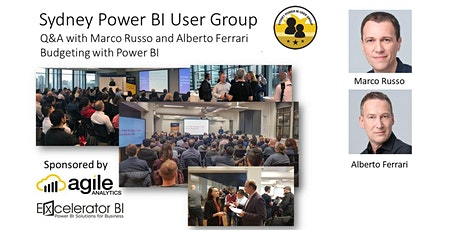 Power BI Meetup -Q&A with Marco Russo and Alberto Ferrari - Apr 2021 tickets