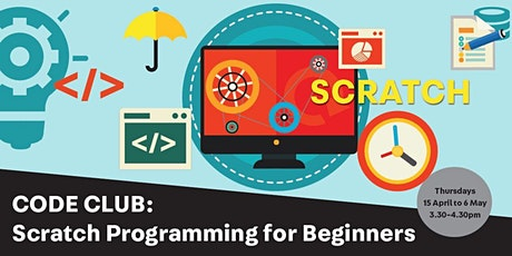 Code Club: Scratch Programming for Beginners tickets