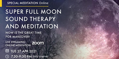 Super Full Moon Sound Therapy and Meditation tickets