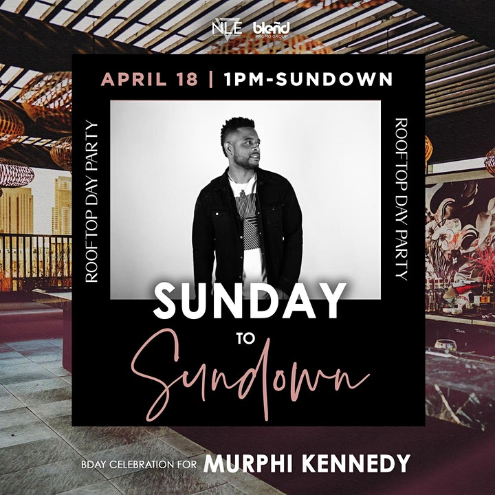 SunDay to SunDown Rooftop Day Party image