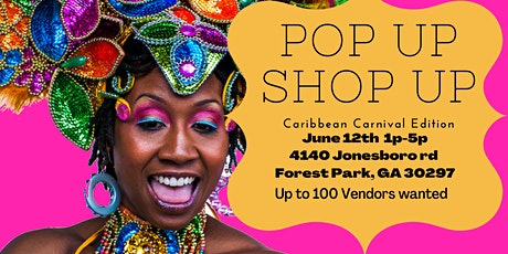 Pop Up Shop up (Caribbean carnival edition) tickets